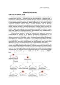 IMUNOLOGIA AOS TUMORES-resuno