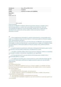 DEFESA DO USUÁRIO E SIMPLIFICAÇÃO III