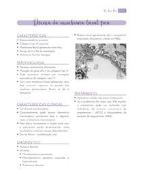 Doença da Membrana Basal Fina - Resumo