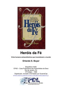 evangélico   orlando boyer   heróis da fé