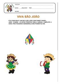 atividades juninas para Educação infantil
