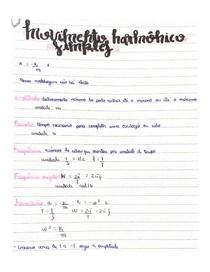 MHS-Movimento harmônico simples