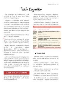 Tecido Conjuntivo (Cap. 5 - Junqueira e Carneiro 13ª ed.)