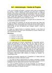 RESPOSTAS - Av1 - Gestão de Projetos