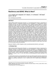 Resiliência e TDAH: o que há de novo?