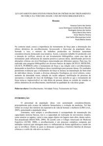 LEVANTAMENTO DOS EFEITOS FISIOLÓGICOS CRÔNICOS DO TREINAMENTO DE FORÇA NA TERCEIRA IDADE (1)
