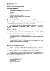 AULA 01- Direito Constitucional - Curso Estágio TJMG