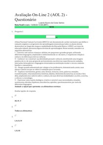 Aol2 Metodologia da Língua Portuguesa
