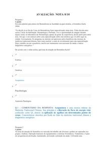 UNIDADE III - AVALIAÇÃO