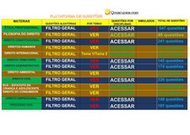 manual infográfico de acesso a questões da OAB pelo QCONCURSOS