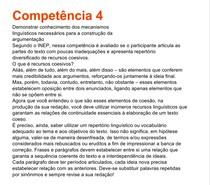 Competência 4 da redação do ENEM
