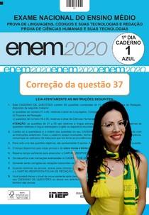 ENEM 2020 Linguagens - Correção - questão 37