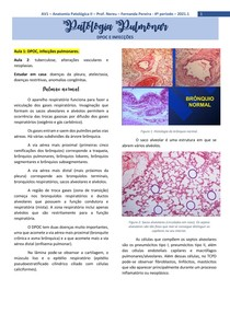 AV1 - Patologia Pulmonar (Aula 3)