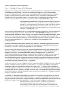 Estrutura e Organização da Educação Brasileira