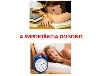 Aula - Importância do Sono