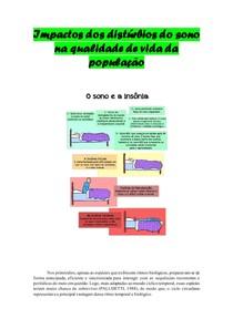 Impactos dos distúrbios do sono na qualidade de vida da população