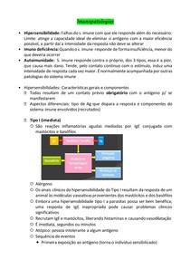 Imunopatologias