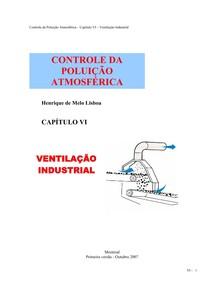 Controle da Poluição Atmosférica Cap 6 Ventilacao Industrial