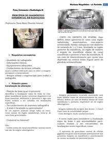 Radiologia - Diagnóstico diferencial