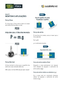 2 - Apostila Física ENEM - Dinâmica Newton