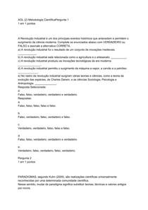 AOL (2) Metodologia Científica
