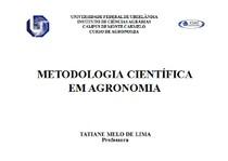 Introdução ao método científico de pesquisa e análise