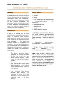 SEMIOLOGIA DA HIPERTENSÃO ARTERIAL (HAS)