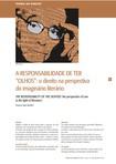 A responsabilidade de ter olhos - Vinicíus Silva Bomfim
