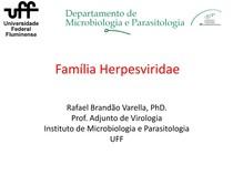 AULA 6  Família herpesviridae e oncovirus