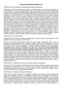 Formação Econômica do Brasil - prova 2