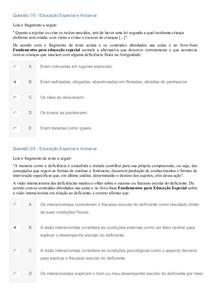 APOL EDUCAÇÃO ESPECIAL E INCLUSIVA