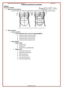 Semilogia Quirúrgica - Abdomen (13p)