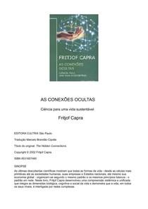 CAPRA, Fritjof. As conexões ocultas