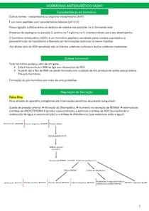 Hormônio Vasopressina (ADH)