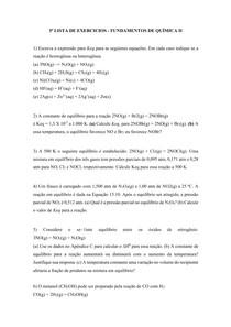 LISTA DE EXERCICIOS 5