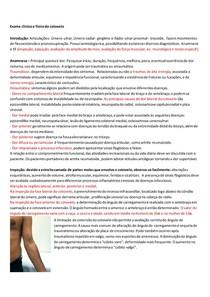 Anamnese e exame físico do cotovelo