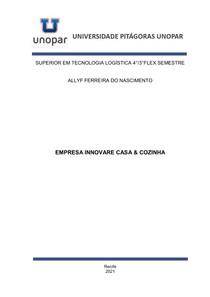 PORTFÓLIO - EMPRESA INNOVARE CASA & COZINHA - COMPLETO