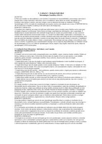 Redaçao de medodologia cientifica e prova 3