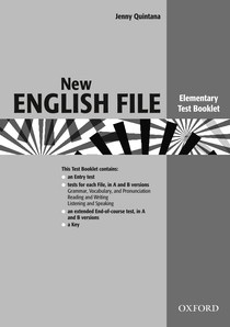 New English File 2004 Elementary Test Booklet - Inglês