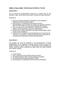 Seminários de Histofisiologia