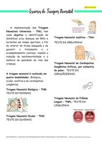 Exames de Triagem Neonatal - Parte 1