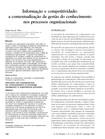 informação e competitividade