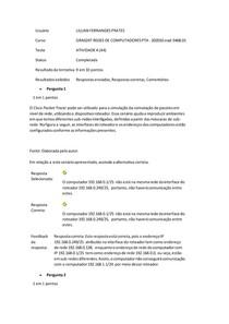 ATIVIDADE 4 (A4 REDES DE COMPUTADORES PTA) - RESPOSTAS