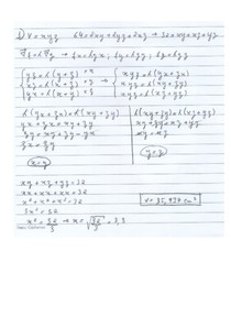 Exercícios Multiplicadores de Lagrange