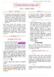 Imunologia - Diabetes Mellitus