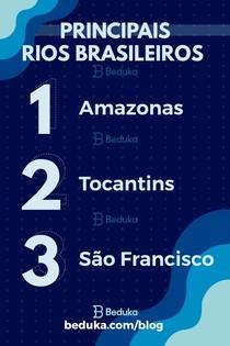 Principais Rios Brasileiros