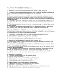 AVALIANDO APRENDIZADO CIVIL IV