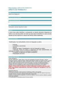 CASO CONCRETO 09 - DIR. TRABALHO I