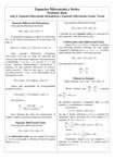 Aula 4 - Equações Homogêneas - Teoria