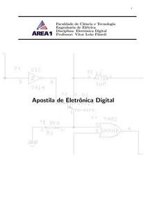 Apostila completa de eletronica digital.
